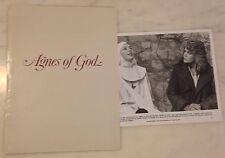 AGNES OF GOD (1985) Press Kit Folder, Photos; Jane Fonda, Meg Tilly; Religion