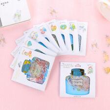 New 48Pcs/pack Drift Bottle Paper Stickers Diary Planner Decor Sticker Memo Pads
