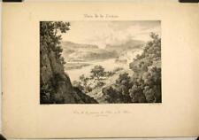 Lithographie C. Bourgeois, Vue de la Suisse