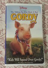 WALT DISNEY PRESENTS GORDY - THE TALKING PIG WHO MADE IT BIG! VHS FAMILY RATED G