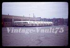 ORIGINAL SLIDE BUS MTC MONTREAL  KODACHROME 1968
