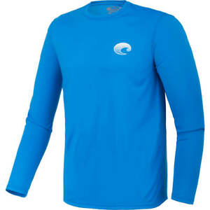Costa Del Mar Men's Tech Crew Long Sleeve Performance T-shirt