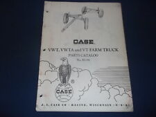 CASE VWT VWTA VT FARM WAGON PARTS MANUAL BOOK CATALOG RI-391