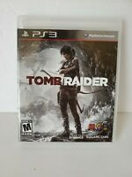 Tomb Raider (Sony PlayStation 3, 2013) PS3 CIB CIP Complete Tested