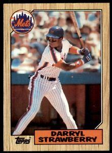 1987 Topps Darryl Strawberry New York Mets #460