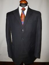 "RACING GREEN  DARK  GREY   PURE WOO SUIT- UK 40R-    34"" WAIST   31.5 ""LEG"