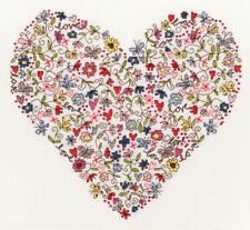 Love Heart Bothy Threads Cross Stitch Kit