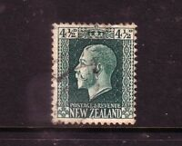NEW ZEALAND....  1915 KGV recess print   4½d green used