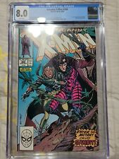 X-men #266 CGC 8.0 White Pages  1st Full Appearance Of Gambit