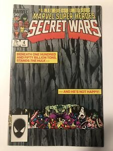 MARVEL SUPER HEROS SECRET WARS #4