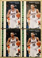 4 CARMELO ANTHONY ROOKIE CARDs 2003/04 Upper Deck Top Prospect RC Team SYRACUSE!