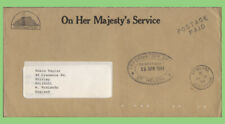 St Helena 1994 OHMS Information Office, Postage Paid official envelope