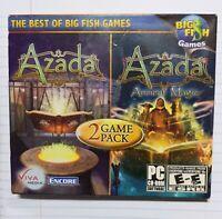 Azada Ancient Magic 2-pack 2010 Big Fish PC CD ROM SOFTWARE  NEW