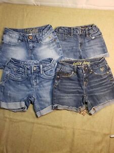 Lot of  Girls Justice, lucky brand.  Shorts Size 7r - 7
