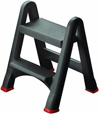 155160 Tabouret pliable 2 marches anthracite Curver