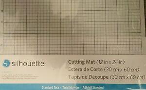 "12""x24"" Silhouette America CUT-MAT-24 Cameo Cutting Mat White NEW IN PACKAGE"