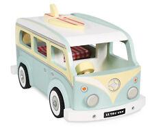 NEW Le Toy Van Holiday Retro VW Kombi Combi Style Campervan Wooden Wood Toy