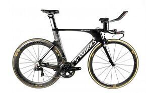 S-WORKS SHIV TT - full Dura Ace 9150 Di2 + Mavic Cosmic CXR triathlon time trial
