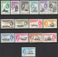 Falkland Islands Dependencies 1954 Ships complete set mint MNH SG-G26---G40 (15)