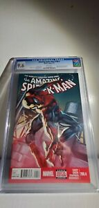 MARVEL THE AMAZING SPIDERMAN #700.4 CGC 9.6 STRICT GRADED COMIC FOR COLLECTORS