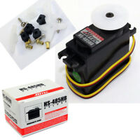 Hitec HS-485HB Deluxe HD BB Karbonite Gear Servo HS485HB / HS485 / 485HB / 485