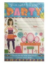 GENERAL Happy BIRTHDAY Party Invitations Envelopes Choice Boy Male Girl Female