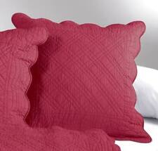 1 Housse Taie boutis taie coussin Taie Oreiller 65 x 65 rouge foncé NEUF