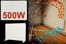 Pannello elettrico riscaldante radiante stufa convezione da muro parete 500W