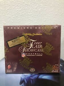 1997 FLEER Flair Showcase NFL Football Trading Cards Hobby Exclusive BOX SEALED