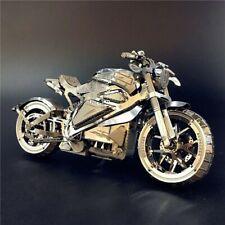 DIY Metal Puzzle Vengeance Motorcycle 3D Laser Cut Assemble Toy Gift Kids Adults