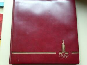 Postfrische Sammlung plus Briefe zu den Olympischen Spielen 1980 Moskau