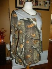 Legendary White Tails Camouflage Pocket Long Tunic Size Medium New With Tags