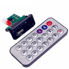 Mini MP3 Decoder Board 5V/12V USB TF Reader+IR Remote MP3 Player for Car am