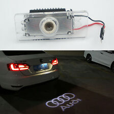 CANBUS White Car LED License Plate Projection Laser Lamp for Audi A4 A6 Q3 Q5 S6