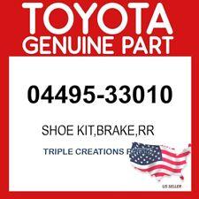 TOYOTA GENUINE 0449533010 SHOE KIT, REAR BRAKE 04495-33010
