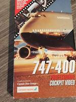 VHS Cathay Pacific Boeing 747 Into Kai Tak Hong Kong RARE TAPE