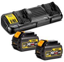 Dewalt - XR FLEXVOLT - 18V/54V Dual Port Battery Charger Kit - DCB132T2-XE