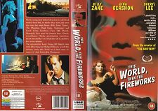 THIS WORLD,THEN THE FIREWORKS VHS PAL BILLY ZANE,GINA GERSHON,SHERYL LEE 90'S
