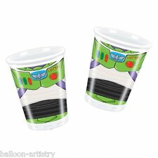 8 Disney Pixar Toy Story Star Power Party Disposable 200ml Plastic Cups
