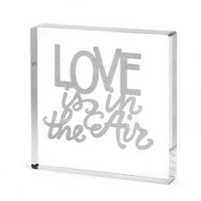 Love Is In The Air Acrylic Wedding Cake Topper