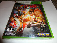 Street Fighter X Tekken  (Xbox 360, 2012) NEW
