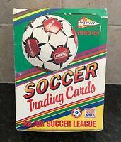 1990-91 Pacific MISL Soccer Unopened Box 36 Packs -12 Cards Pack- Steve Zungul