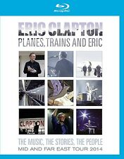 ERIC CLAPTON - PLANES,TRAINS AND ERIC-MID AND FAR EAST TOUR 2014  BLU-RAY NEU