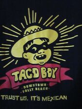 """NWOT - TACO BOY """"TRUST ME IT'S MEXICAN"""" Adult 2XL Double-Sided Short Sleeve Tee"""
