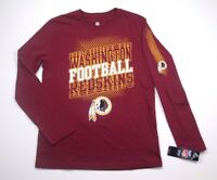 Washington Redskins Youth Boys Dual Team Pride long sleeve shirt jersey