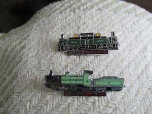 Vintage Railway Enamel Badges