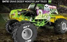 Axial 90055 Smt10 Grave Digger Monster Jam Truck 1/10 Scale Electric 4wd
