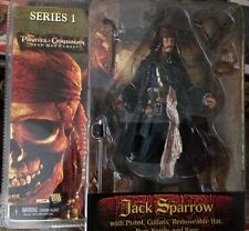 Neca Pirates of carribean 1 Jack Sparrow with pistol, cutlass, removeable hat