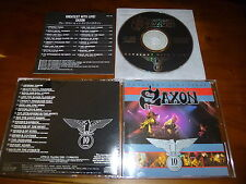 Saxon / Greatest Hits Live JAPAN VICP-105 *W