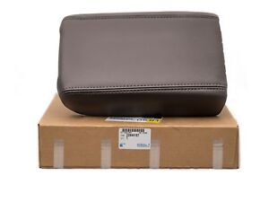 2008-2012 Buick Enclave Front Console Lid Arm Rest Cocao Leather OEM NEW